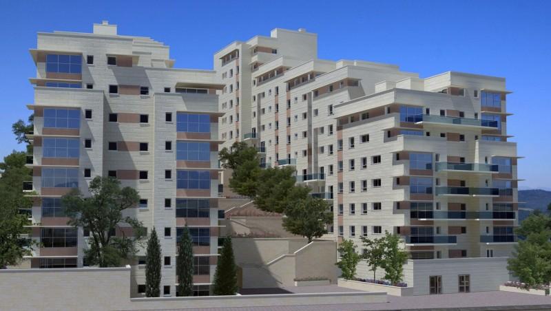בנייני מגורים, רח' קצנלבוגן – ירושלים
