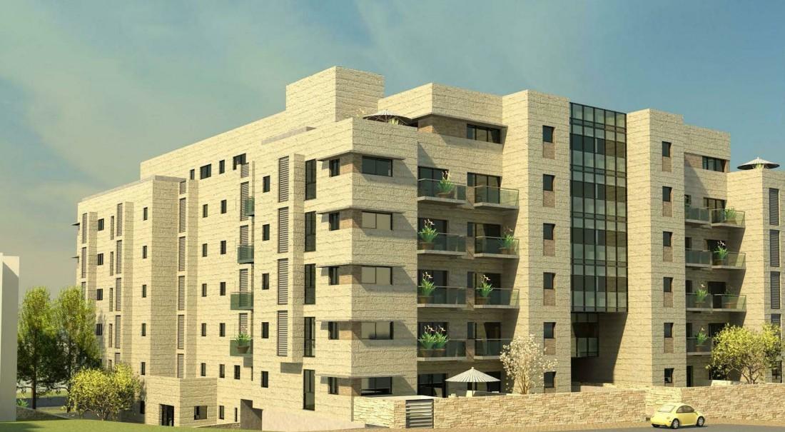 נחום מלצר יצחק אפריל אדריכלים מגורים ברחוב חברון ירושלים (1)