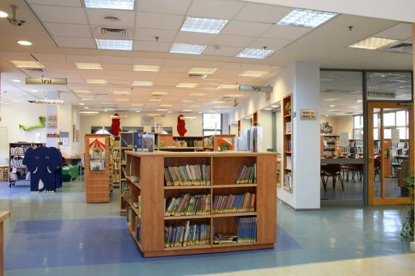 נחום מלצר יצחק אפריל אדריכלים ספרייה מעלה אדומים פנים (2)