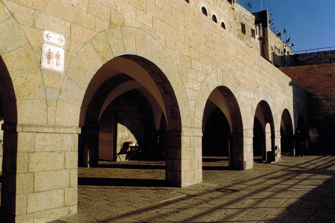 נחום מלצר יצחק אפריל אדריכלים רחבת הכותל המערבי ירושלים (2)