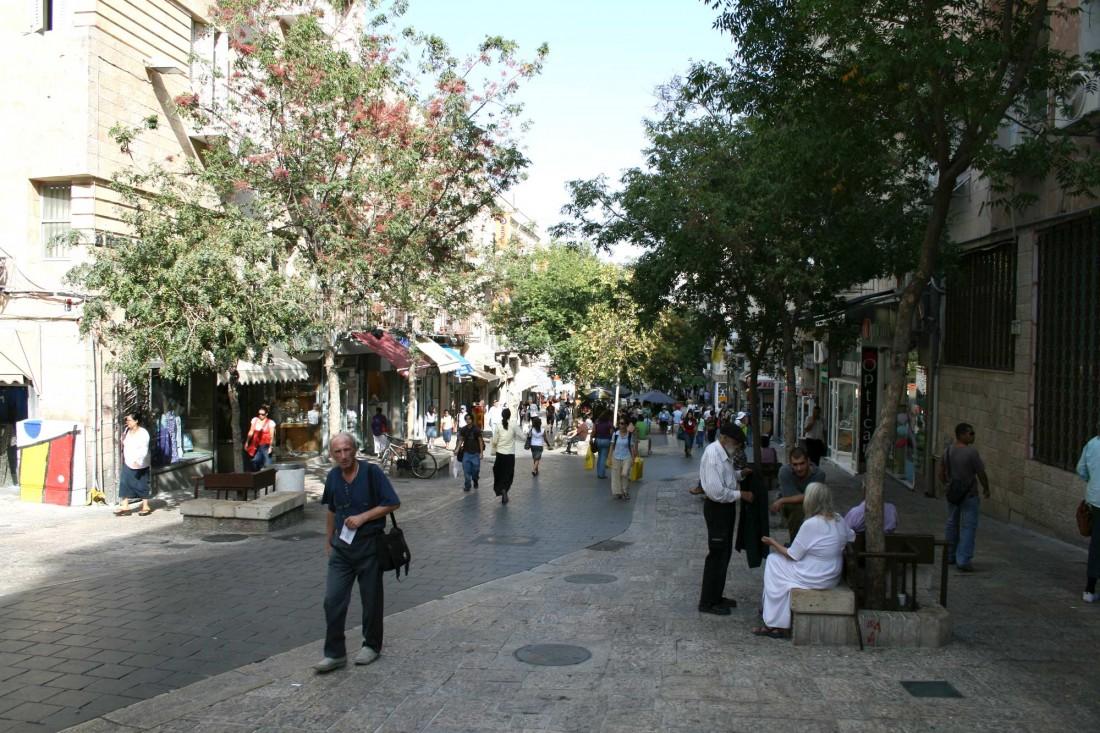 נחום מלצר יצחק אפריל אדריכלים מידרחוב בן יהודה ירושלים (2)