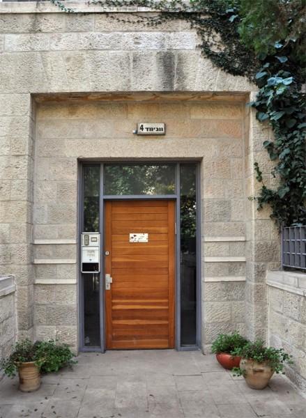 נחום מלצר יצחק אפריל אדריכלים מגורים במושבה הגרמנית ירושלים (4)