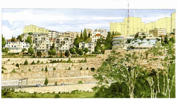 בנייני מגורים, רוממה ירושלים