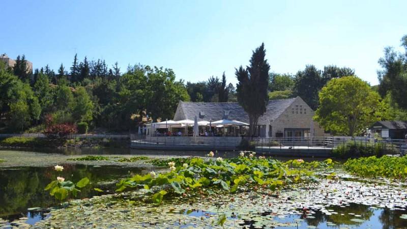 מבנה קפיטריה – הגן הבוטני, ירושלים