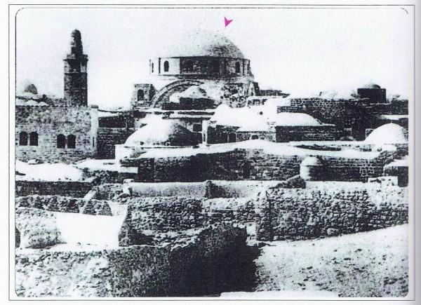 תצלום משנת 1861. מבט מדרום מזרח