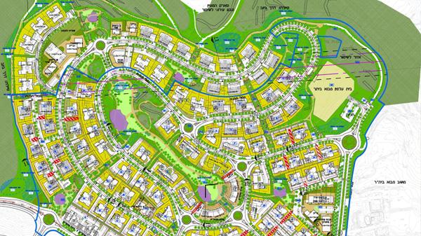 תוכנית מתאר לשכונה חדשה בצור הדסה